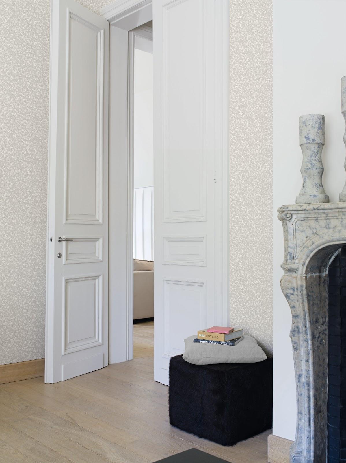 Papeles pintados aribau la vie en rose nueva colecci n - Papeles pintados la maison ...
