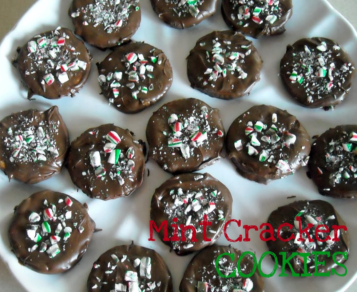 Six Sisters Cookies Easy Chocolate Thin Mint Ritz Crackers Cookies Recipe Six