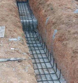 El maestro de obras xavier valderas construccion de cimientos - Como hacer un piso de hormigon ...