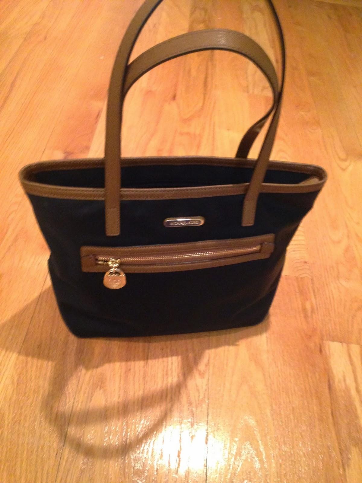 Michael Kors Kempton Nylon Bag In Black