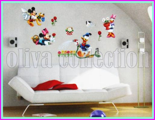 wall sticker cartoon - wall sticker murah se-jakarta