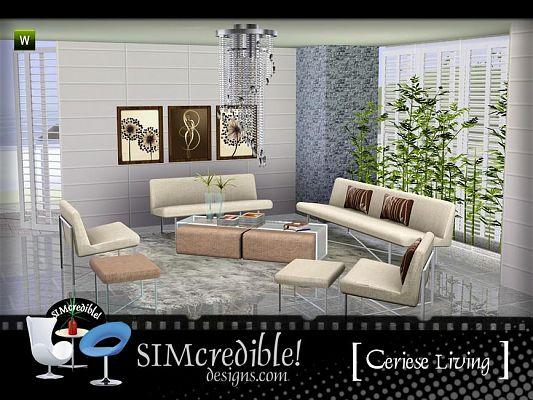 sala de estar the sims 3