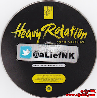 JKT48 Heavy Rotation Type-A   Music Video DVD [image by @aLiefNK]