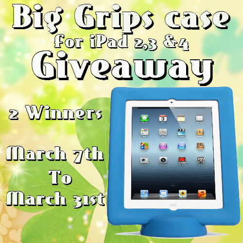03/31/14 Big Grip Case Giveaway