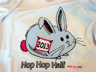 Hop Hop Half and 5k Shirts