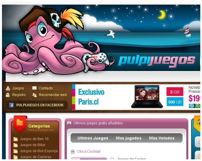 PulpiJuegos - Juegos Gratis