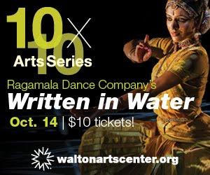 10x10 Arts Series / Written in Water