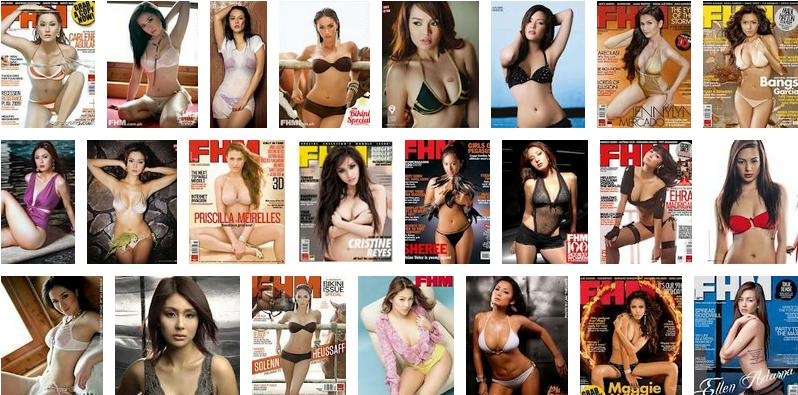 Official 2013 Sexiest women FHM Philippines top 100 top 10