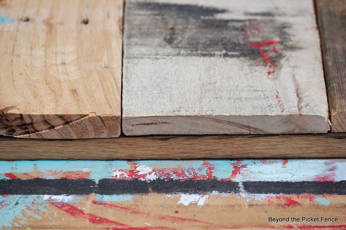 junkers united reclaimed wood shelf http://bec4-beyondthepicketfence.blogspot.com/2014/04/junkers-unite-with-reclaimed-wood-shelf.html
