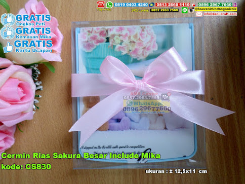 Cermin Rias Sakura Besar Include Mika