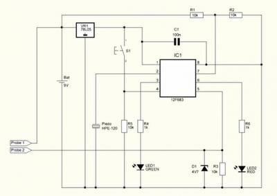 Automatic detectors water tank pump