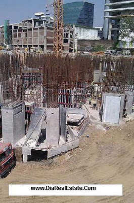 Actual Site Photograph of Lodha World Crest