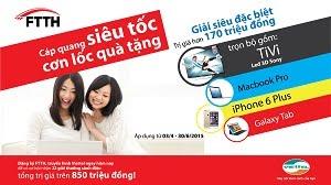 Cáp Quang Viettel miễn phí