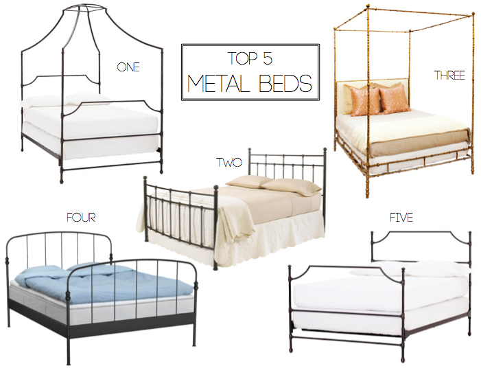 top 5 metal bed frames