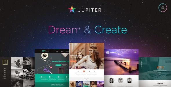 Jupiter Multipurpose Responsive Theme 2015