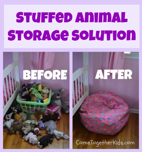 Come Together Kids: Stuffed Animal Storage Solution