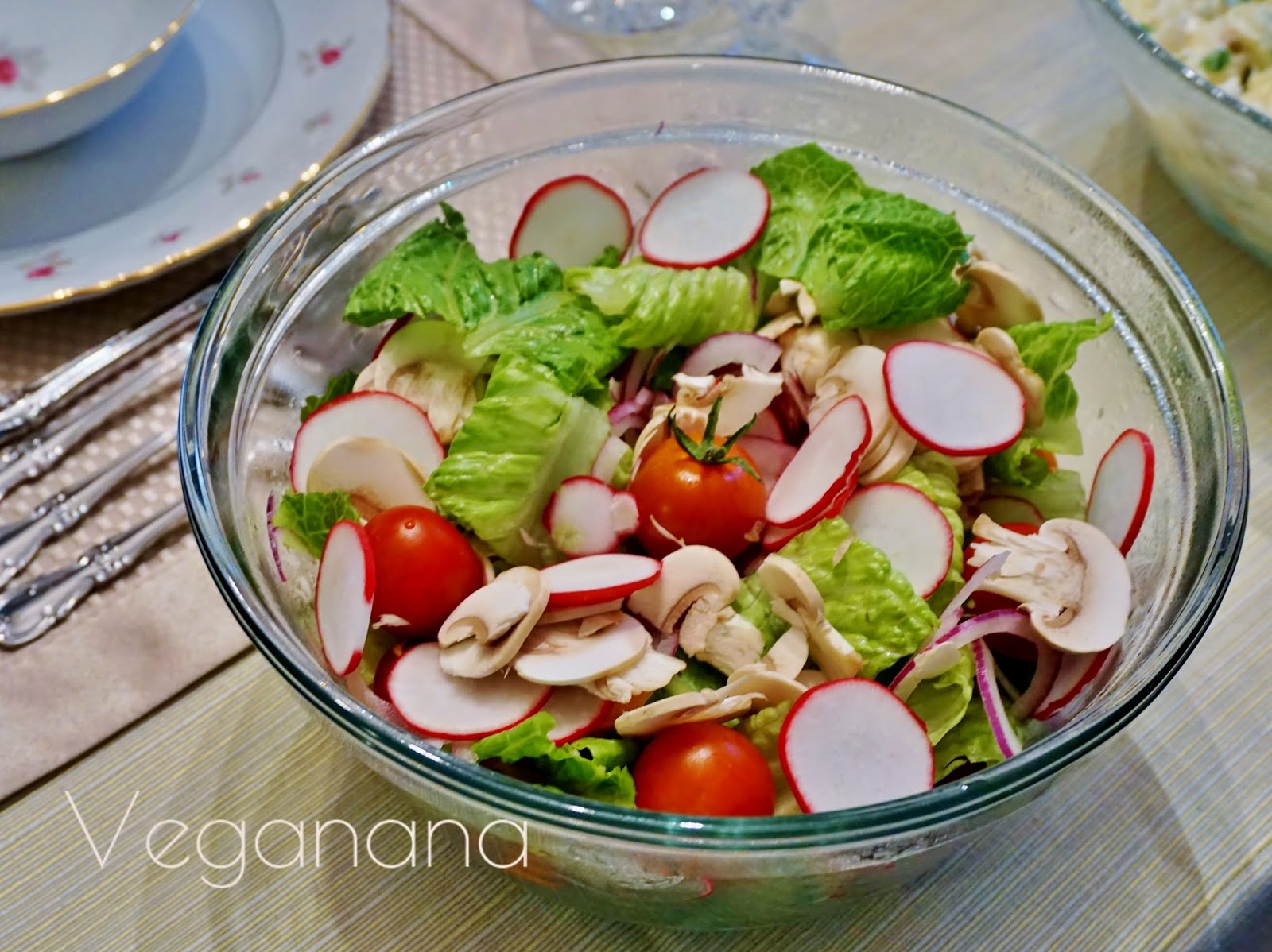 Ideias De Saladas ~ Salada de Rabanetes com Cogumelos Receita rápida e simples de fazer