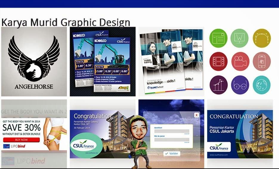 Karya Murid Graphic Design di DUMET School