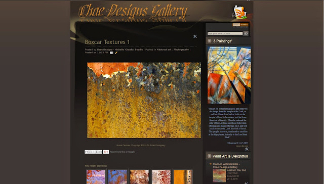 Chae Designs Gallery blog features Visual Art, Art Students & Art Classes!
