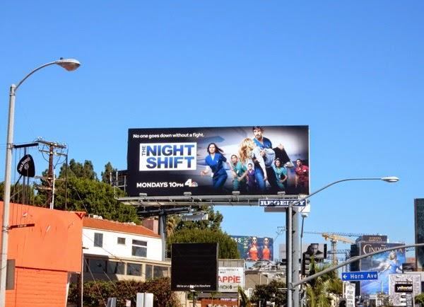 Night Shift season 2 billboard