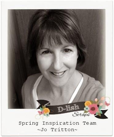 D-lish Scraps Spring Inspiration Team 2014