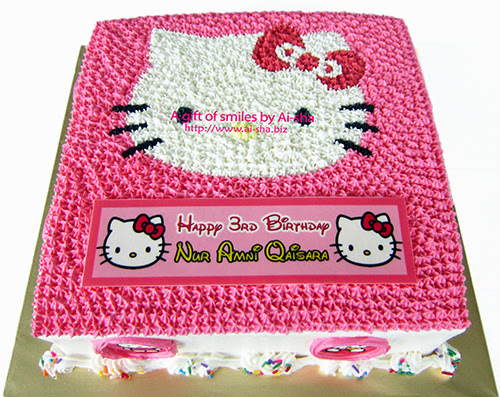 Birthday Cake Hello Kitty