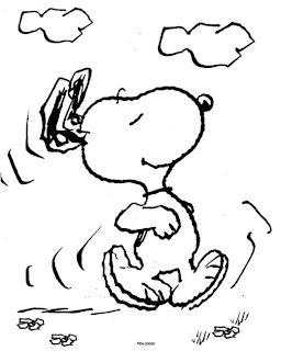 Snoopy Coloring Pages