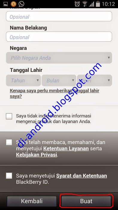 Cara Memasang BBM di Android