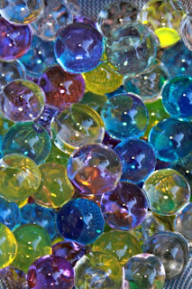 Water Beads in the Play Pool