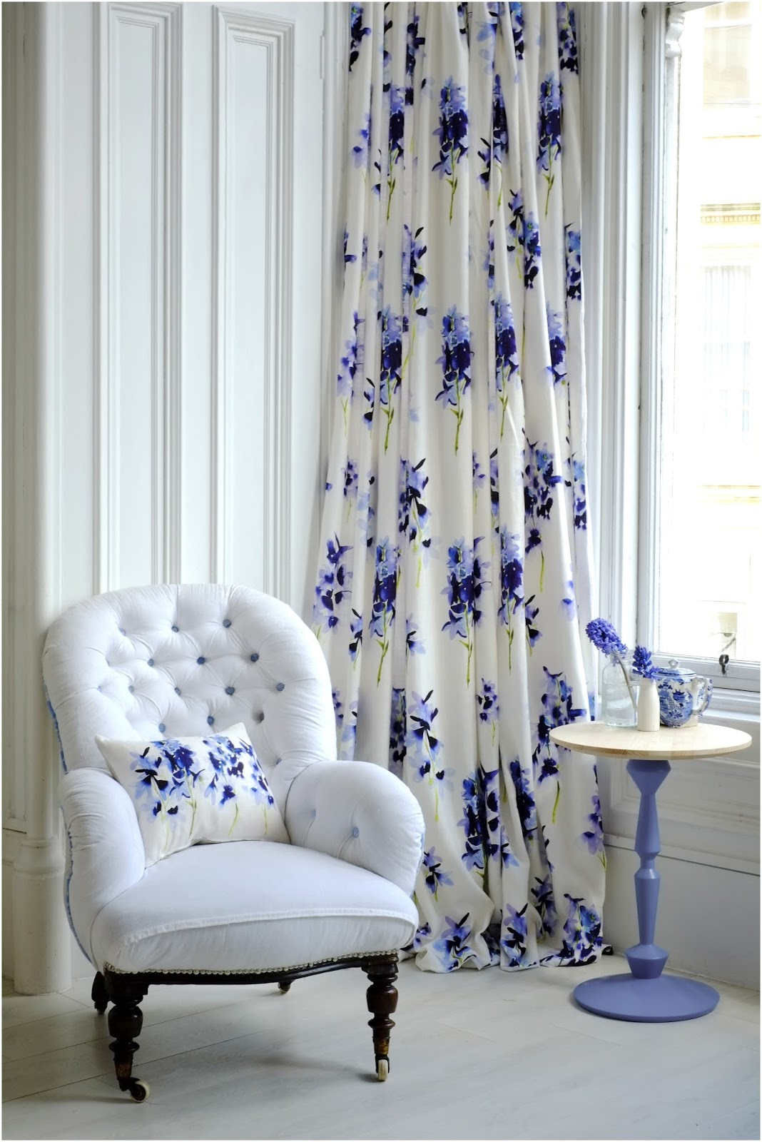 Laura Butler-Madden: Feeling Floral With Bluebell Gray