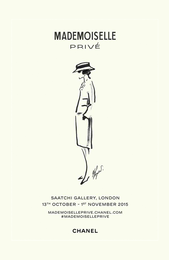 Chanel expo / Mademoiselle Prive exhibition Saatchi gallery London October-November 2015 / fashion news / via fashioned by love british fashion blog