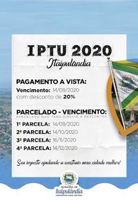 Campanha IPTU 2020