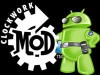 install ClockWorkMod (CWM) recovery
