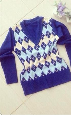 sorteio blusa lã