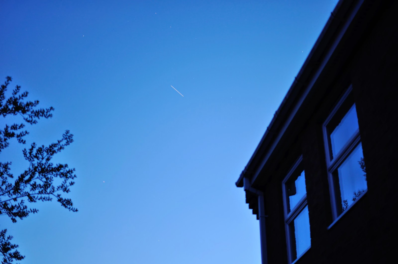 ISS sighting