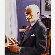 Francis J. Quirk portrait of Edgar Lee Masters