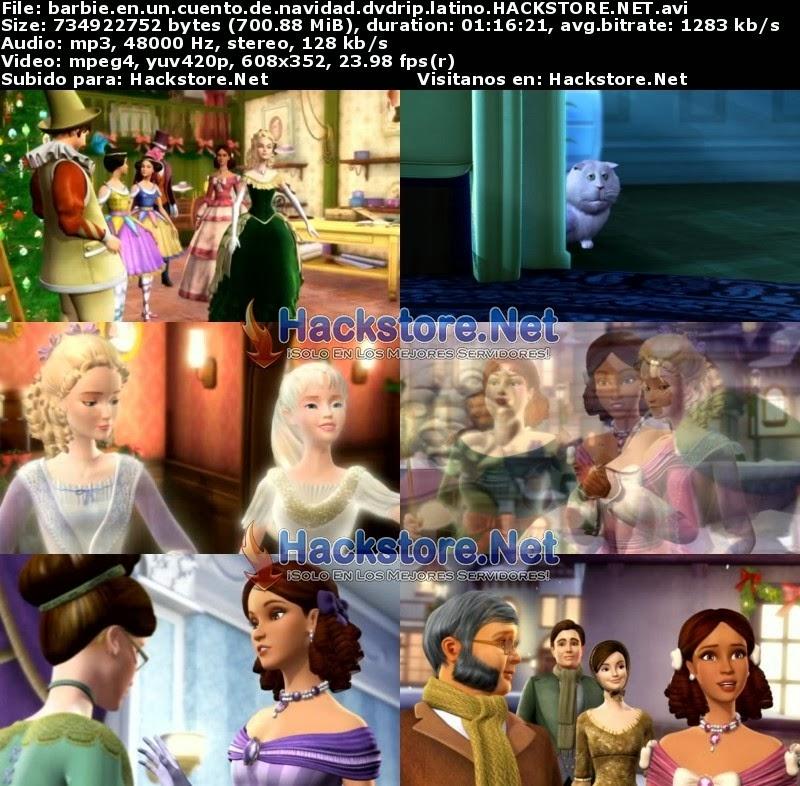 Captura Barbie en un Cuento de Navidad (2008) DVDRip Latino