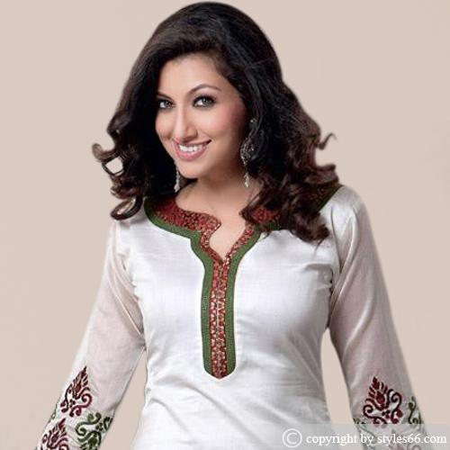 Awesome Neck Design Churidar Neck Designs Catalogue Bandhani Dress Neck Designs Blouse Back Neck ...