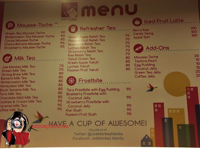 Have A Cup of Awesome at Joe Monkey!