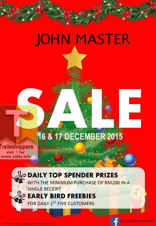 John Master Sale 2015