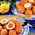 كويرات البطاطس بالبيض او بالكفتة
