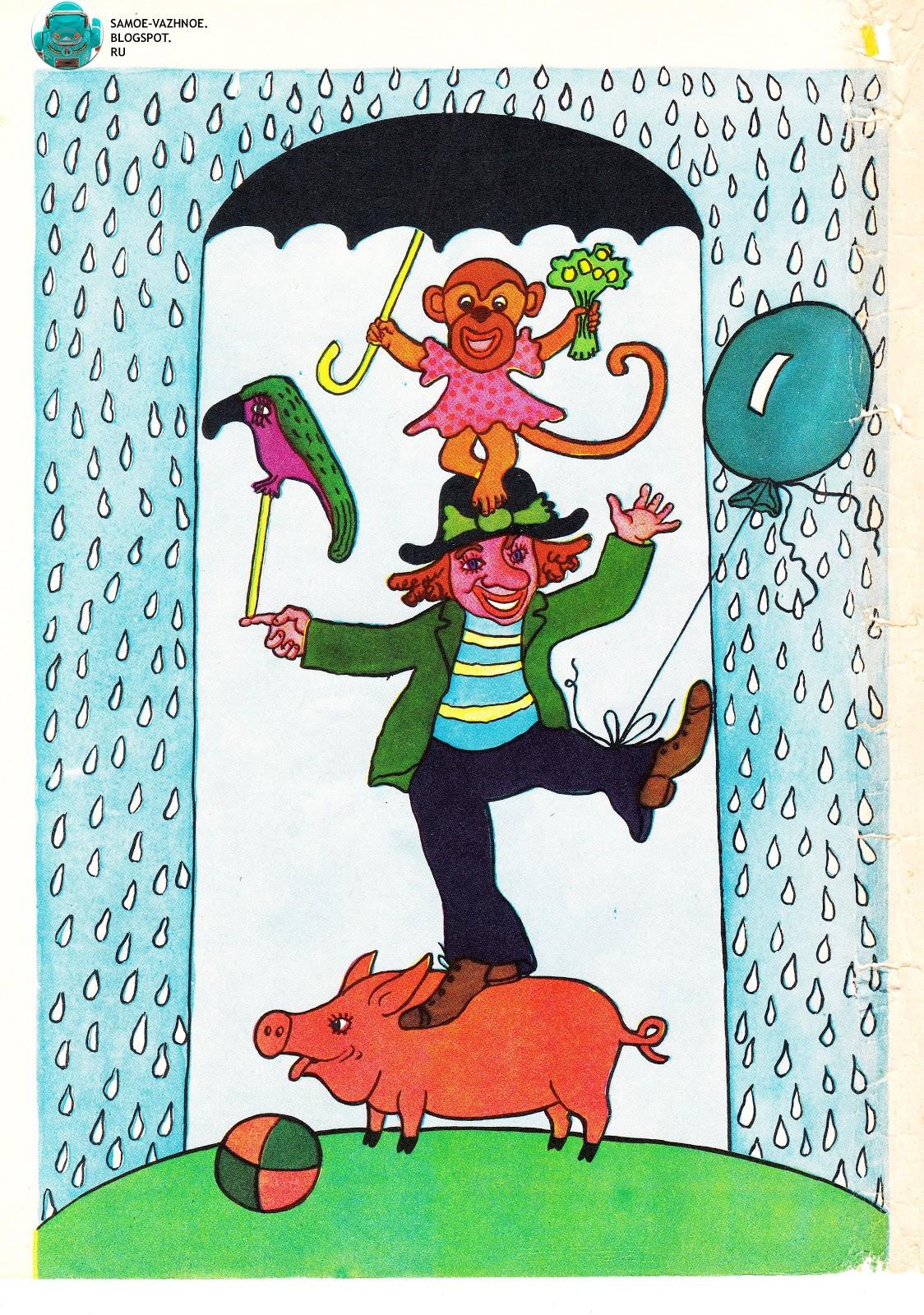 Поделка из бумаги Цирк набор клоун