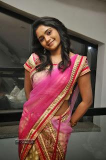 Telugu-Actress-Sireesha-Stills-in-Saree-at-Malligadu-Marriage-Bureau-Audio-Launch