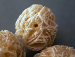 desert rose selenite gypsum beads