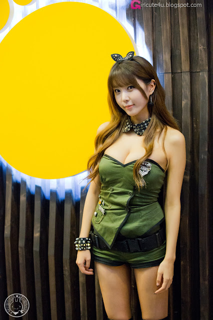 5 Heo Yoon Mi - World of Tanks  - very cute asian girl - girlcute4u.blogspot.com