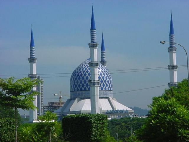 Masjid Sultan Salahuddin Abdul Aziz Shah, Shah Alam.