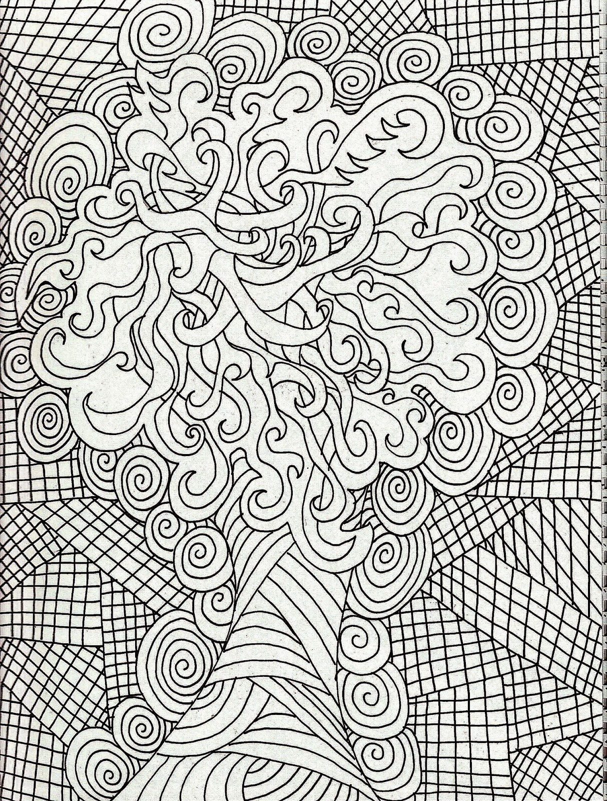 Coloring pictures for adults free coloring pictures for Large printable coloring pages