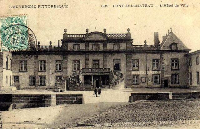 CPA Château de Pont du Château Puy de Dôme Auvergne