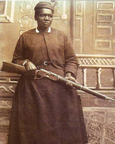 Mary Fields, also known as Stagecoach Mary. She was the first African-American woman employed as a