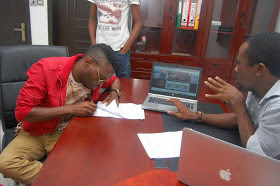 Hakym The Dream Sign Multi- Million Naira Recording Deal With De Ark Records & Ent